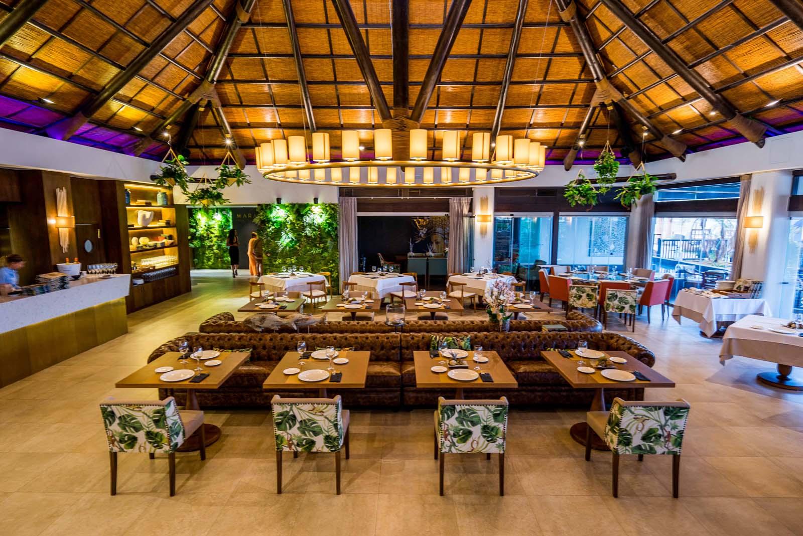 Comedor restaurante Maraú Beach Club