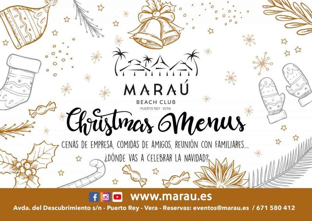 Menús Navidad Maraú Beach Club